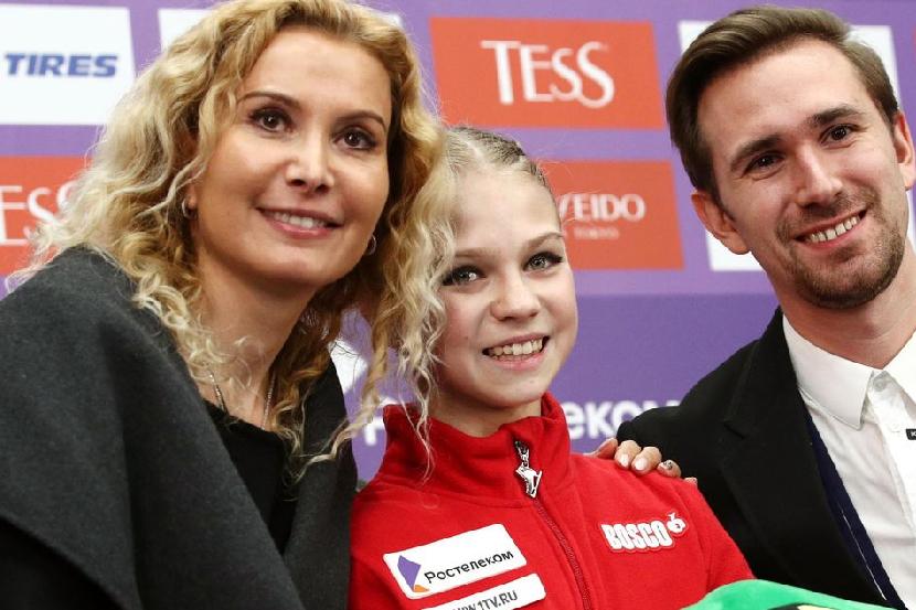 Трусова вернулась в команду Тутберидзе