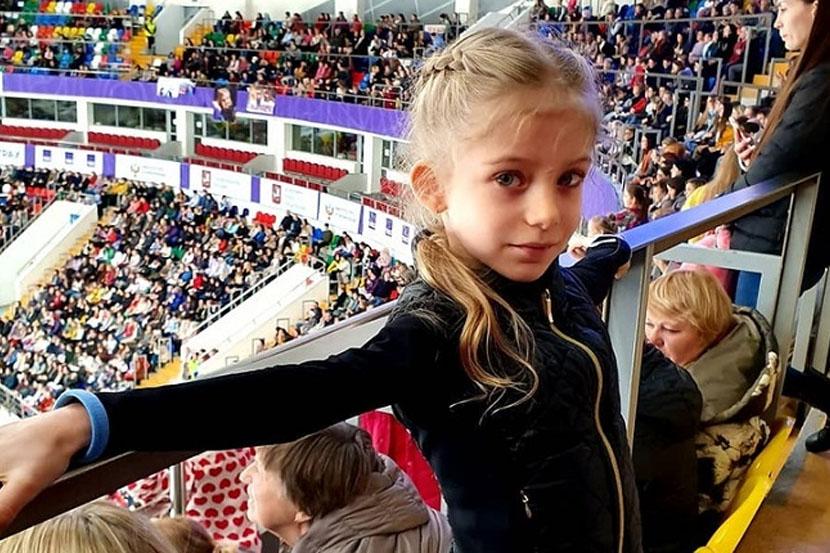 Ученица Плющенко исполнила на удочке аксель в 12 оборотов. ВИДЕО
