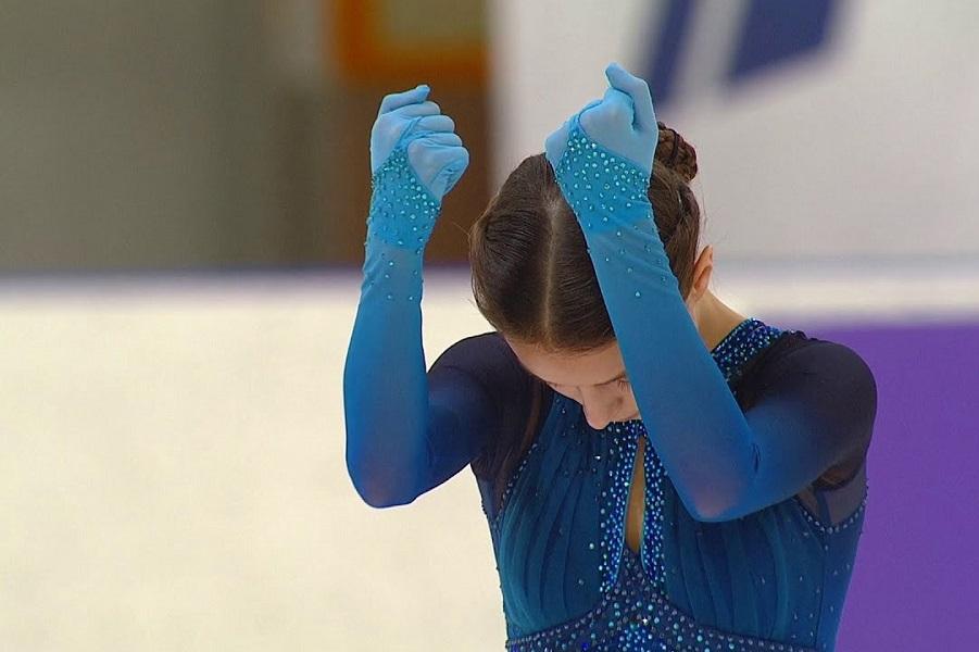 Щербакова: 'Перед первой победой на ЧР я хотела просто попасть в шестёрку'. ВИДЕО