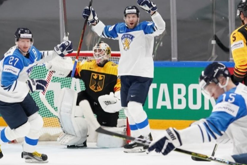 Прогноз Лебедева на полуфинальный матч ЧМ-2021 Финляндия — Германия
