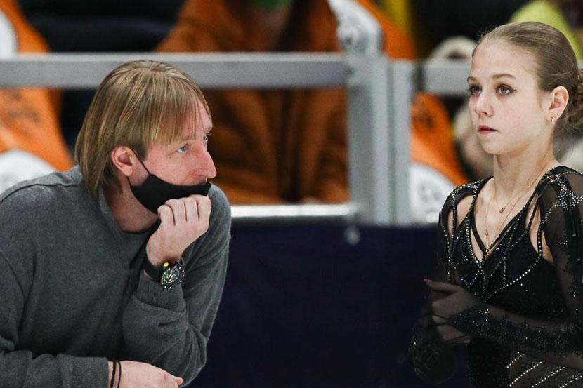 Плющенко: 'Считаю, что именно Трусова выиграла чемпионат России. В этом меня никто не переубедит'