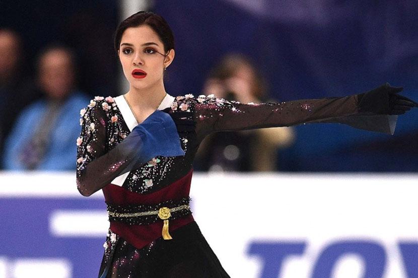 Андреева: 'Мне нравится фигуристка Медведева. Она достойно себя ведёт'
