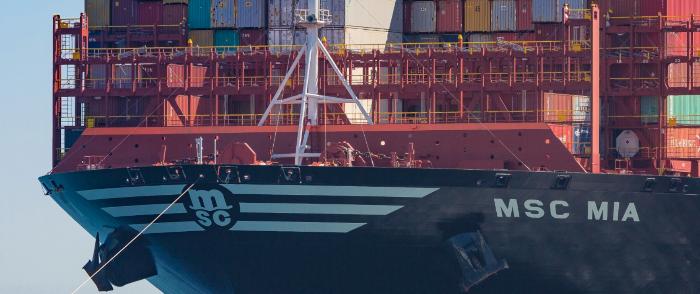 Проблемы с судоходством возникли еще до блокировки ...