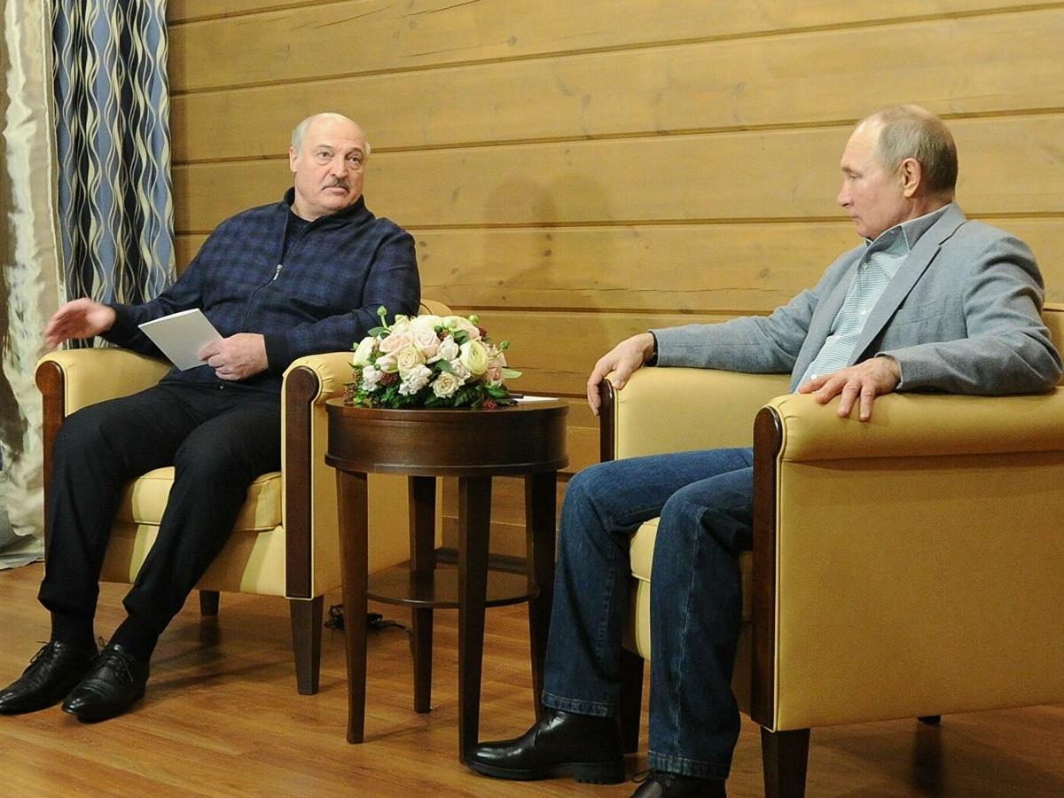 СМИ: Путин и Лукашенко поругались в Сочи
