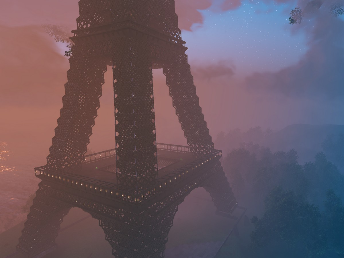 Видео Эйфелевой башни в Valheim собрало около 24 тысяч просмотров
