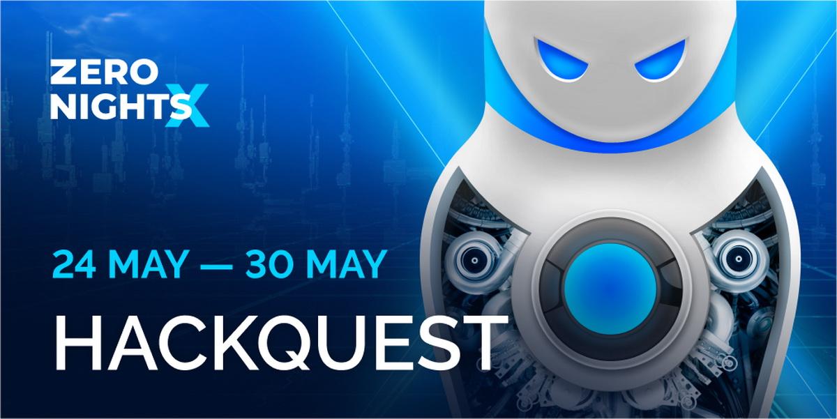 Объявлены даты проведения Hack Quest на ZeroNights 2021