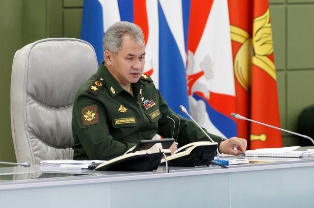 Шойгу провёл переговоры с министром обороны Израиля