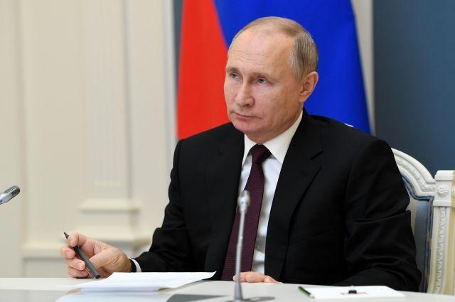 Путин отметил работу органов внутренних дел в 2020 году