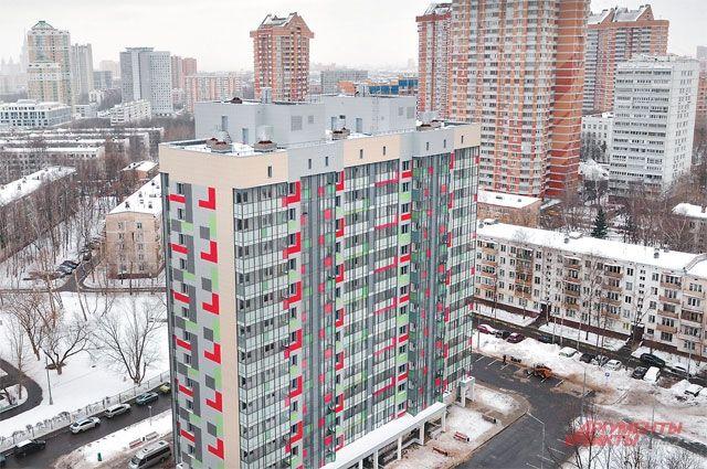 Хорошая динамика. В 2021 году в Москве введено 700 тыс. кв. м жилья