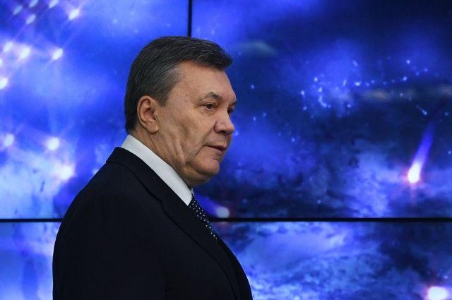 На Украине ввели «максимальные санкции» против Януковича