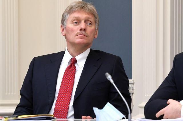 Песков: Москва не получала от Зеленского запросов на переговоры