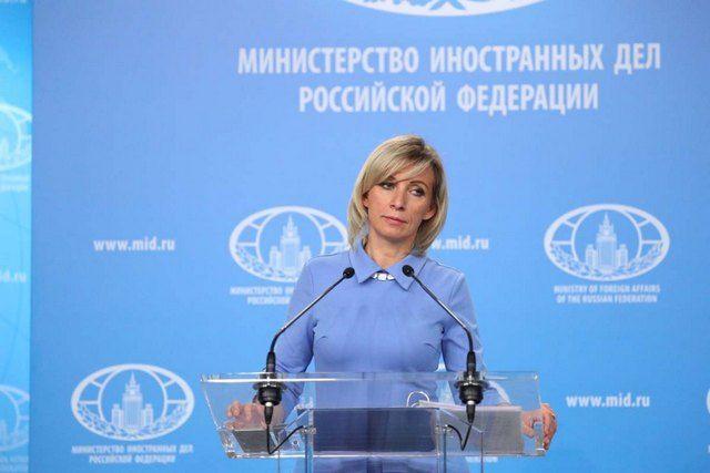 Захарова удивилась реакции Запада на инцидент с самолетом Ryanair в Минске