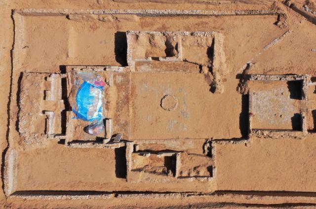 Неизвестные ранее остатки Великой Китайской стены