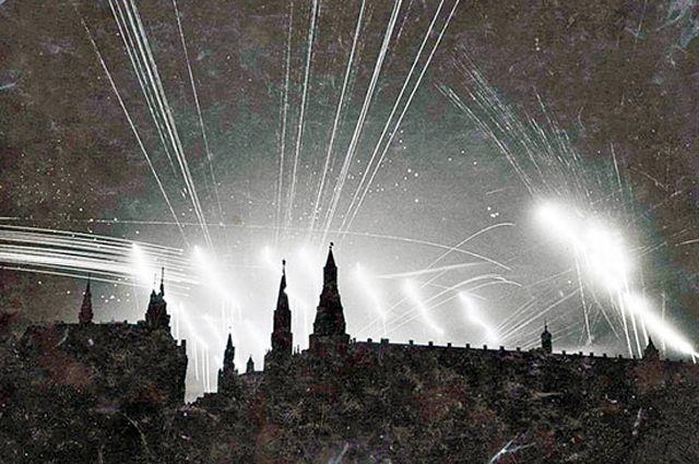 Небо над Москвой. Первое поражение немцам нанесли летом 1941 г. в воздухе