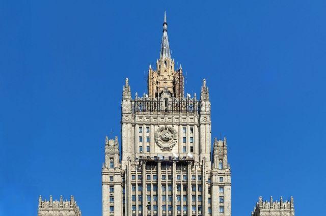 МИД оценил заявление главкома ВМС США о «провокациях» РФ в Чёрном море