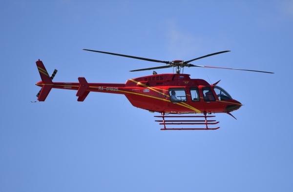 Полицейский вертолет разбился в Перу