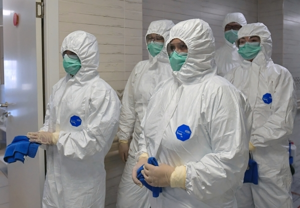 В России выявлено почти 9 тысяч новых случаев заражения COVID-19