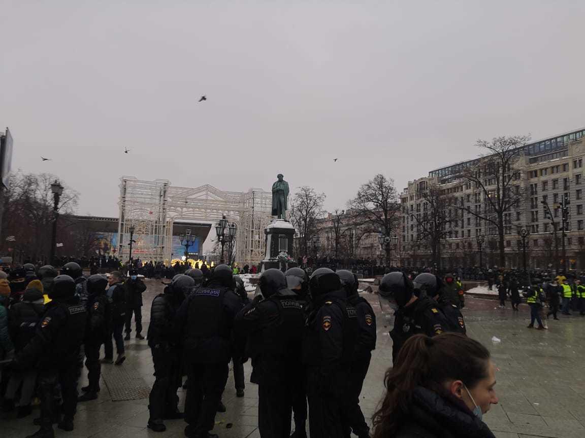 Либертарианцы отказались от акции в поддержку Навального в Москве