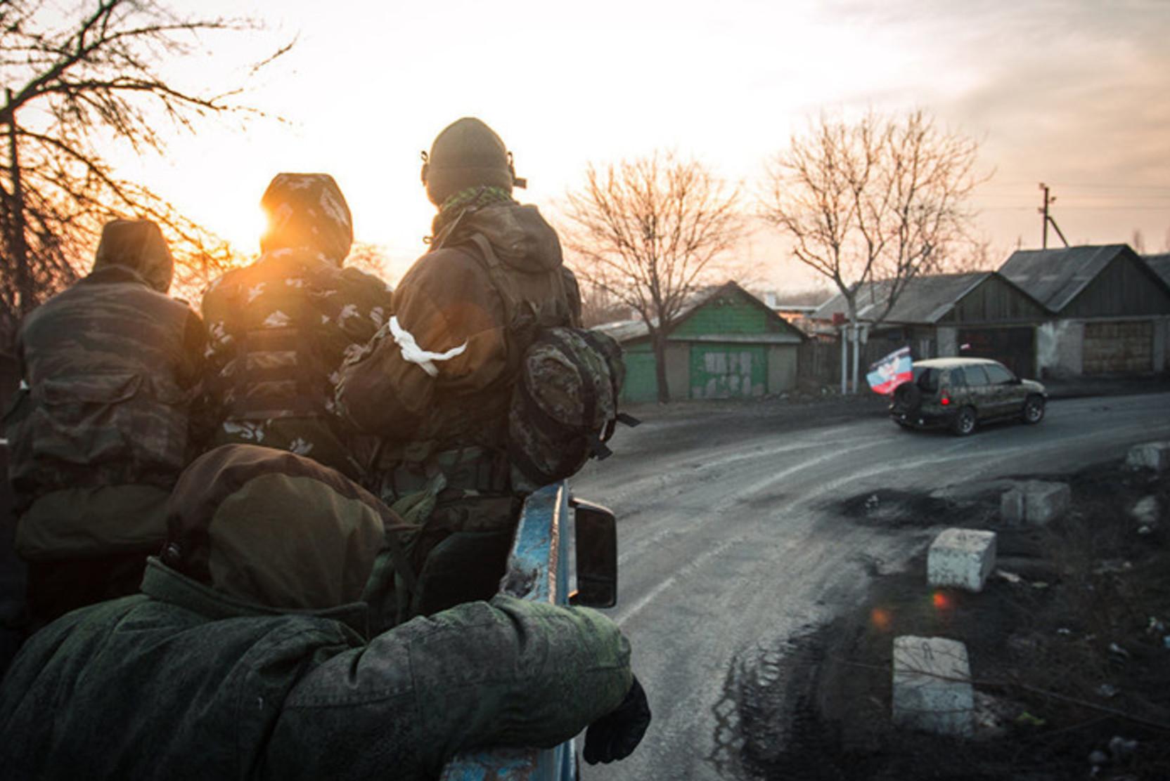 ДНР: под Горловкой произошло столкновение с военными Украины