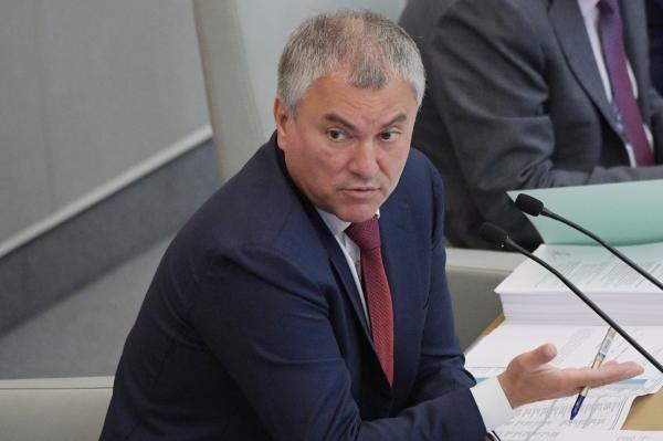Володин призвал депутатов Госдумы убеждать россиян прививаться от COVID-19
