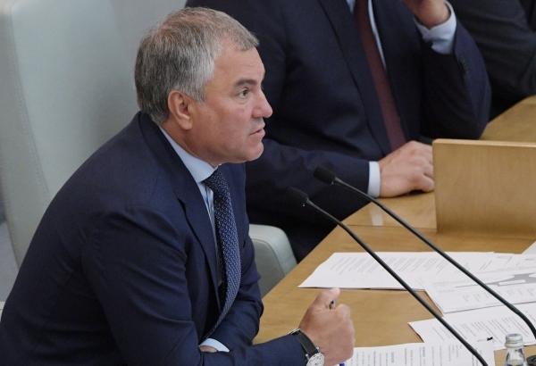 Володин призвал обсудить уход от анонимности в интернете