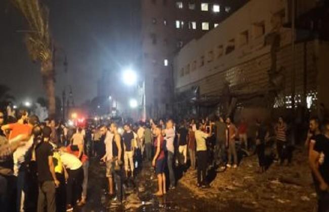 18 человек погибли при обрушении жилого дома в Каире