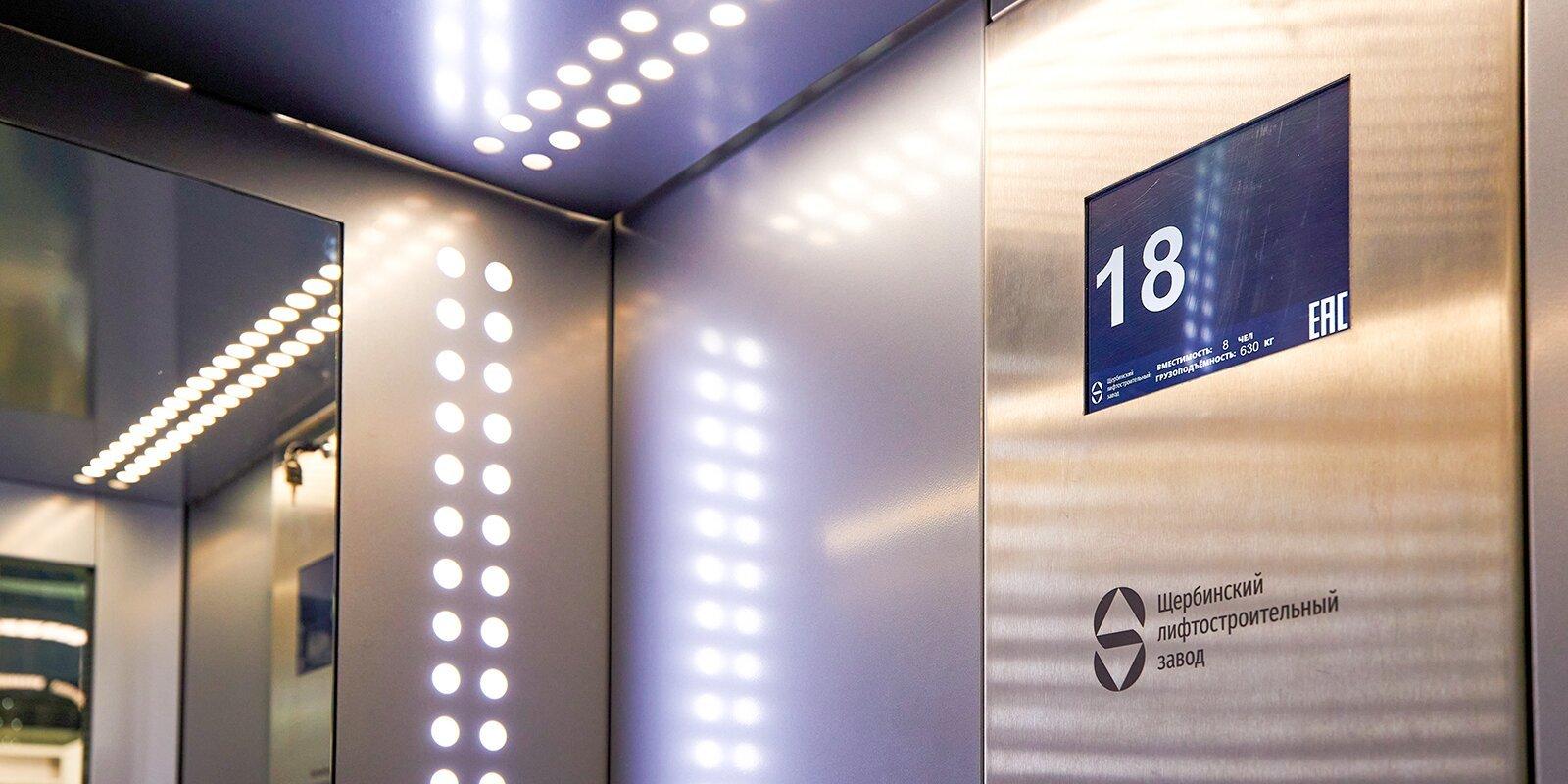 Московский завод выпустил рекордное количество лифтов
