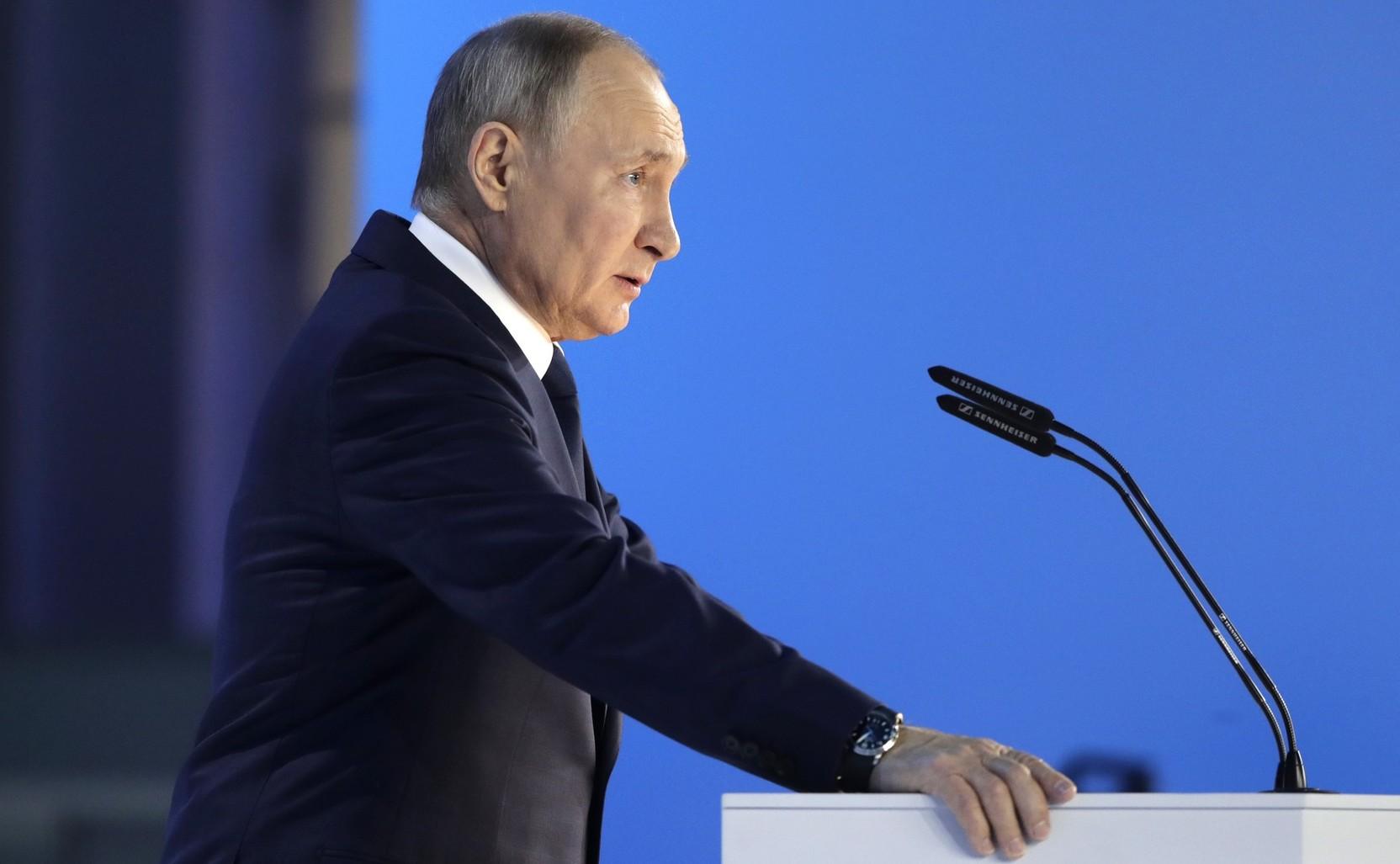 Путин обратится с приветствием к участникам марафона «Новое знание»