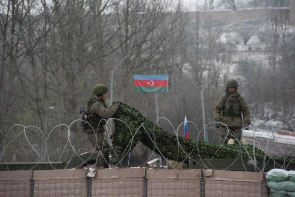 Армения разместила военных на границе с Азербайджаном
