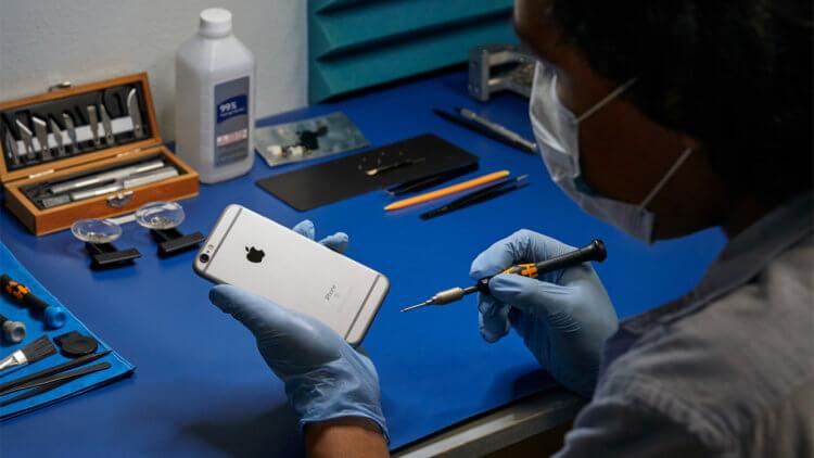 Apple бесплатно меняет и ремонтирует сломанную технику, если вежливо попросить