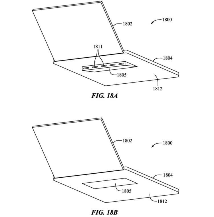 Apple хочет сделать в MacBook Pro выдвижные ножки для охлаждения. Посмотрите, как это выглядит