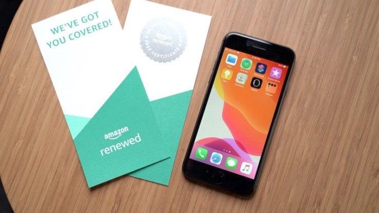 Amazon восстанавливает iPhone и продаёт в 2 раза дешевле, чем Apple