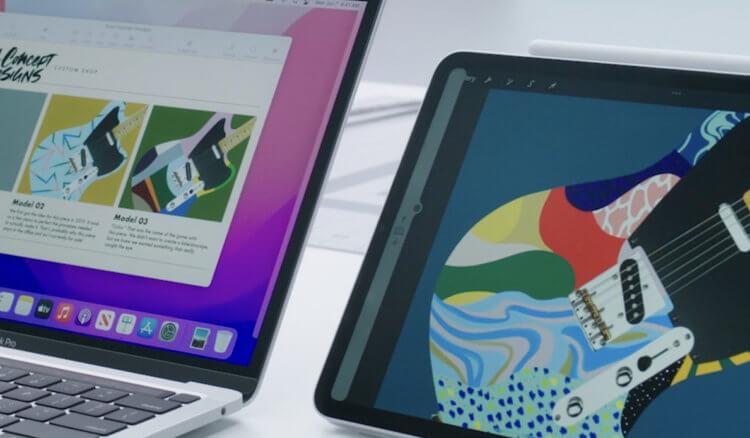 Что такое Universal Control в macOS Monterey и как это работает