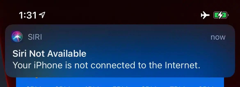 В iOS 15 Siri сможет работать без подключения к интернету
