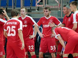 Клуб КПРФ не смог выйти в полуфинал мини-футбольной Лиги чемпионов