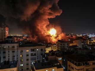 Истребители Израиля ударили по штабу внутренней безопасности ХАМАС