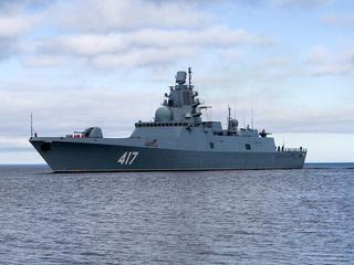 'Адмирал Горшков' запустил ракеты в Баренцевом море