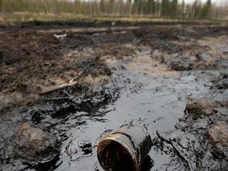 Утечка нефтепродуктов произошла на месторождении на Ямале
