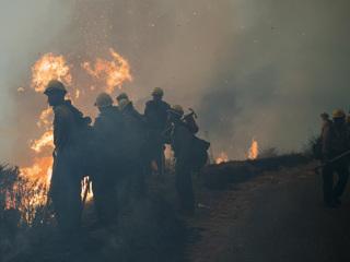 Пожары в Калифорнии: идет эвакуация