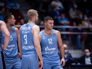 Баскетболисты 'Зенита' обыграли в гостях 'Барселону'
