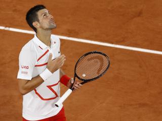 Джокович вышел в полуфинал Открытого чемпионата Франции
