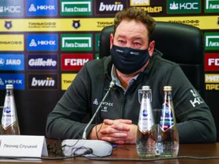 Леонид Слуцкий: очень доволен, что 'Рубину' удалось вернуться в игру