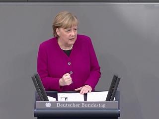 Меркель заявила о последнем выступлении в должности канцлера