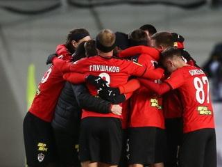 Гол Глушакова принес победу 'Химкам' в матче с 'Тамбовом'