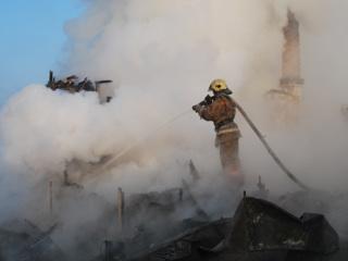 Двое взрослых и ребенок погибли при пожаре в Забайкалье