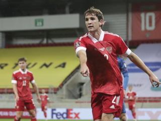 Сборная России проиграла Словакии в матче квалификации чемпионата мира