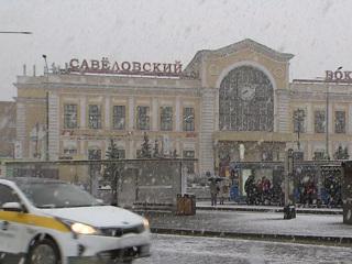 Мокрый снег вернул в Москву зимние пейзажи