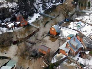 Остров невезения: паводок в Подмосковье