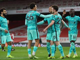 'Ливерпуль' вернулся в зону Лиги чемпионов после разгрома 'Бернли'