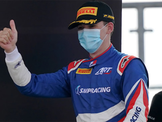 'Формула-3'. Россиянин Смоляр установил лучшее время Red Bull Ring